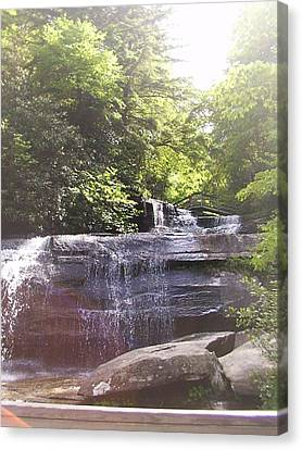 Waterfall Canvas Print by Kelly Hazel