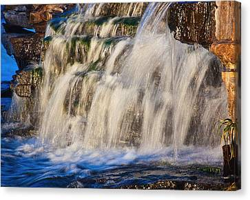 Waterfalls Canvas Print by Josef Pittner