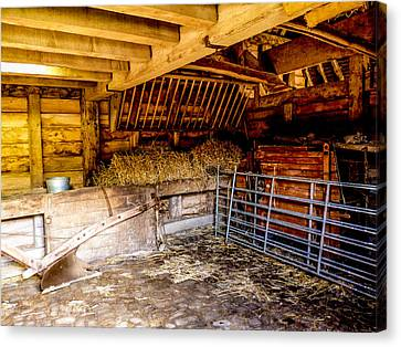 Watersfield Stable Canvas Print by Dawn OConnor