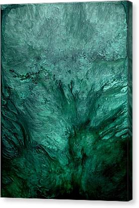 Textured Canvas Print - Waterworld by Holly Anderson