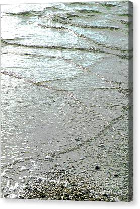 Salt Air Canvas Print - Wave Weaving by Joe Jake Pratt