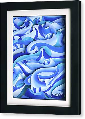 Waves 2 Canvas Print by Jason Amatangelo