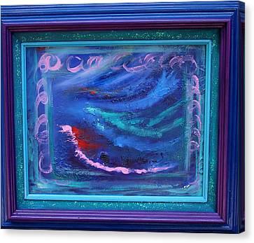Waves Canvas Print by Karin Eisermann