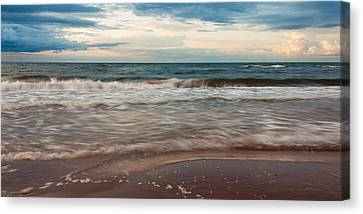 Waves Canvas Print by Matt Dobson