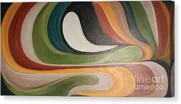 Waves Of Discontent Canvas Print by Rachel Carmichael