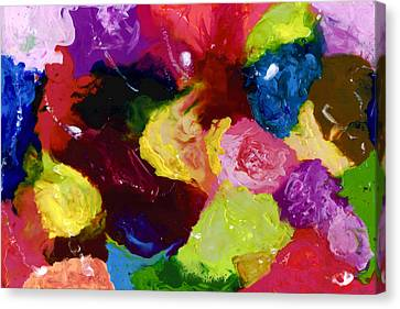 Wax Rainbow On Canvax Two K O One Canvas Print by Carl Deaville