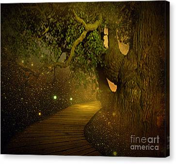 Way To Heaven Canvas Print by Ester  Rogers
