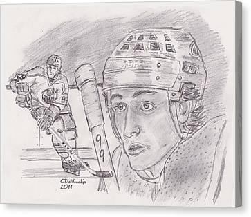Wayne Gretzky-the Great One Canvas Print