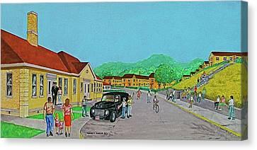 Wayne Hills 1948 Canvas Print by Frank Hunter