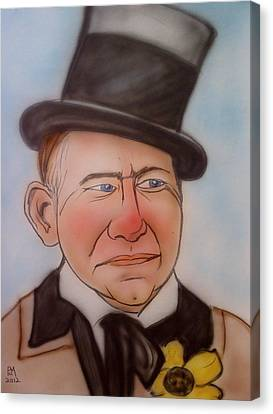 W.c. Fields Canvas Print by Pete Maier