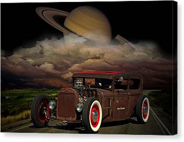 We Are Not In Kansas Anymore Canvas Print by Tim McCullough
