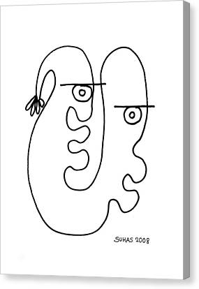 We Are One Canvas Print by Suhas Tavkar
