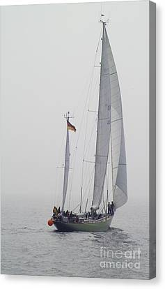 We Are Sailing ... Canvas Print by Heiko Koehrer-Wagner