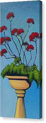 We Lift Our Hands Canvas Print by Erica Shaw