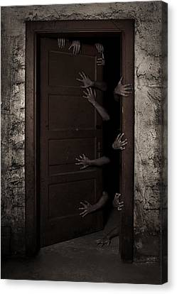 Welcome Canvas Print by Aljaz Bezjak