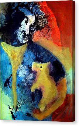 Welcome Back Canvas Print by Aquira Kusume