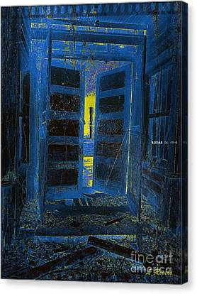 Welcome Home - We Have Been Waiting Canvas Print by Leslie Revels Andrews