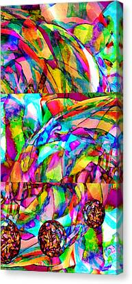 Experience Canvas Print - Welcome To My World Triptych by Angelina Vick