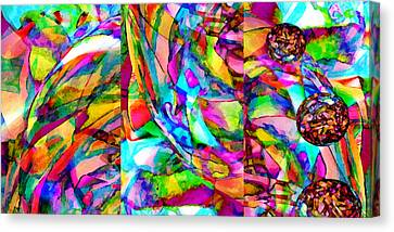 Experience Canvas Print - Welcome To My World Triptych Horizontal by Angelina Vick