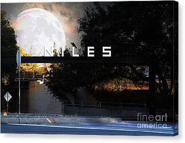 Welcome To Niles California . Gateway To The Stars . 7d12755 Canvas Print