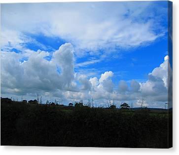Welsh Sky Canvas Print by Ian Kowalski