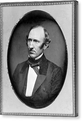 Wendell Phillips 1811-1884 American Canvas Print by Everett
