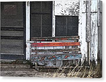 We're Closed Canvas Print by Cheri Randolph