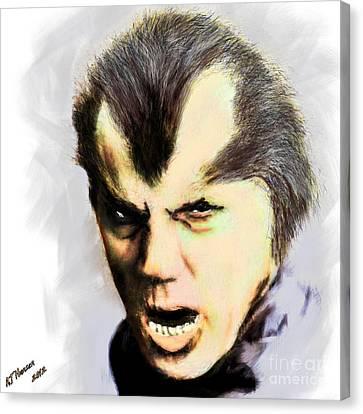 Werewolf Of London Canvas Print by Arne Hansen