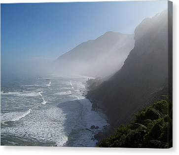 West Coast- South Island Canvas Print by Peter Mooyman