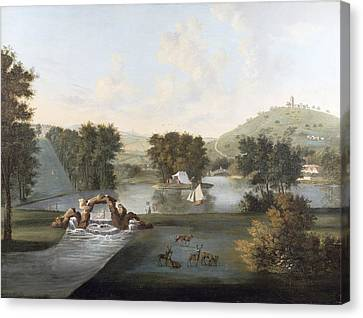 West Wycombe Park  Canvas Print by William Hannan