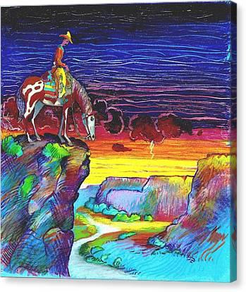 Western Grand View Canvas Print by Rob M Harper