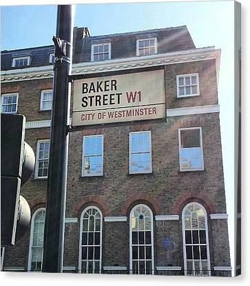 Ignation Canvas Print - #westminster #bakerstreet #baker by Abdelrahman Alawwad