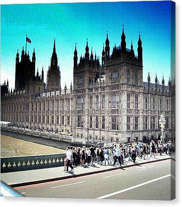 Westminster, London 2012 | #london Canvas Print by Abdelrahman Alawwad