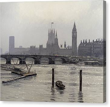 Westminster Canvas Print by Tom Young