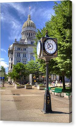 Westmoreland County Courthouse Canvas Print by Coby Cooper