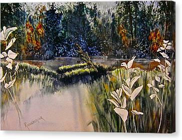 Wetlands Canvas Print by Carolyn Rosenberger