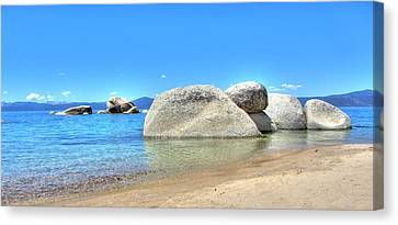 Whale Beach North Lake Tahoe Canvas Print by Brad Scott