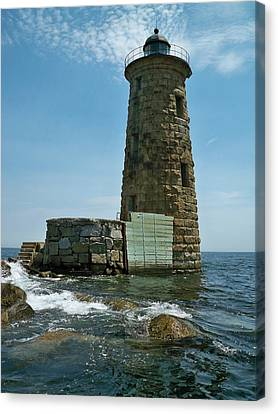 Whaleback Light Canvas Print