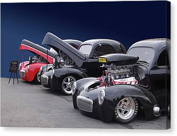 Canvas Print featuring the photograph Whas In Your Willys by Bill Dutting
