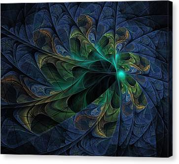 Canvas Print featuring the digital art What Is Given Here by NirvanaBlues