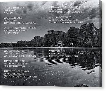 What Is This Place Canvas Print by Joshua House