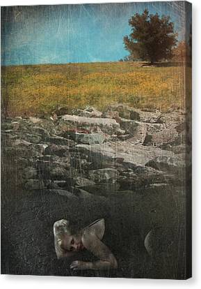 What Lies Below Canvas Print by Laurie Search