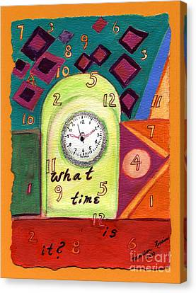 What Time Is It? Canvas Print by Marlene Robbins