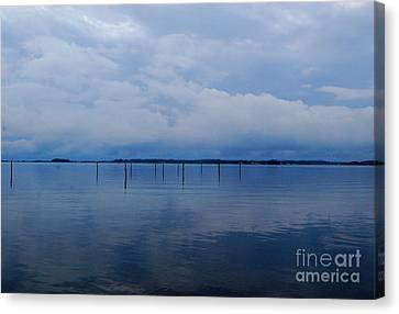 Canvas Print featuring the photograph What Used To Be by Linda Mesibov