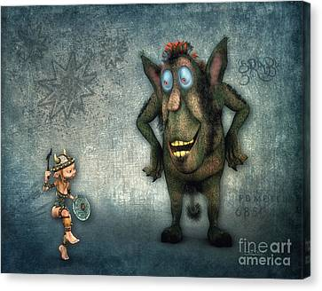What's Up? Canvas Print by Jutta Maria Pusl