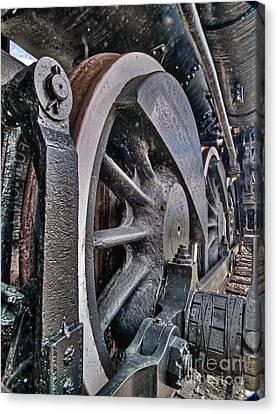 Wheels Of Steel Canvas Print