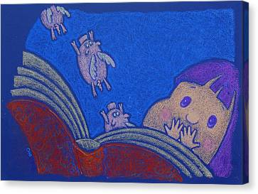 When Pigs Fly Canvas Print by wendy CHO