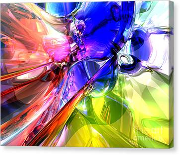 Purple Grapes Canvas Print - When Rainbows Collide by Alexander Butler