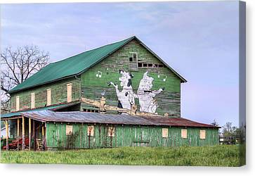 When The Farmer's Away Canvas Print by JC Findley