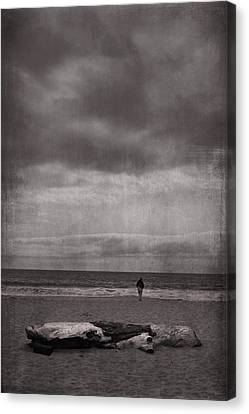 When You're All Alone In This Life Canvas Print by Laurie Search